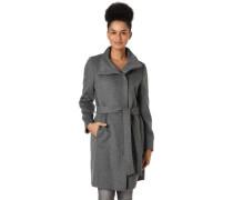 Mantel, meliert, Taillengürtel, für Damen