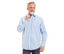 Businesshemd Comfort Fit Baumwolle gestreift