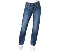 "Jeans ""Mable"", Straight Fit, Waschung,"