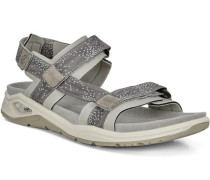 Sandalen Wechselfußbett Klettverschluss zweifarbig