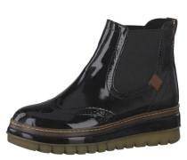 Chelsea Boots Lochmuster Lack-Optik