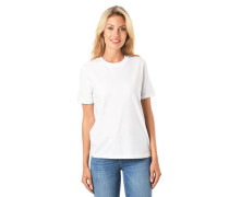 T-Shirt Ärmel-Umschlag reine Baumwolle uni