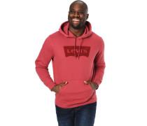 Sweatshirt, Kapuze mit Tunnelzug, ausgestanztes Logo, Rippbündchen, Kängurutasche,
