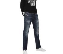 "Jeans ""Larkee"" Regular Fit Straight Leg Waschung"