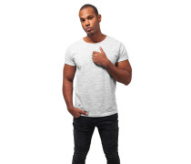 T-Shirt Baumwoll-Mix Rundhalsausschnitt