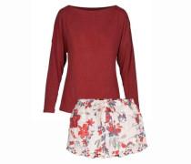 Pyjama mit Shorts Flowerpower