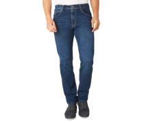 """Jeans-Hose """"Nevada"""" Straight Fit Kontrast-Nähte"""