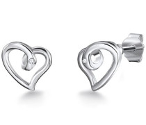 Diamantohrstecker Sterling Diamant