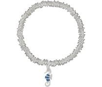 Stretch-Armband Seepferd mit Kristall