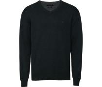 Pullover, dunkelgrün, M