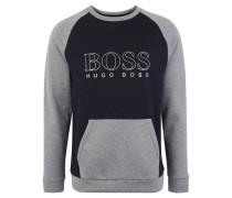 Loungewear Sweatshirtetallic-Print, Kängurutasche