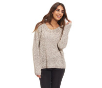 Pullover Baumwoll-Anteil Glitzerfäden