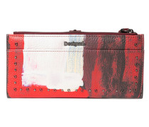 Portemonnaie /schwarz/rot