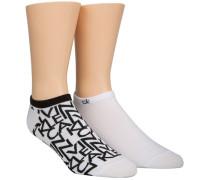 Sneakersocken Cotton Rich 2er Pack