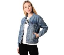 Jeansjacke, Klassiker, Use-Optik, atmungsaktiv, für Damen, jeans