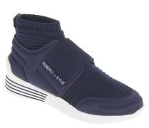 Sneaker Sock-Like-Look elastischer Riemen Mesh