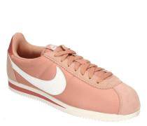 """Sneaker """"Cortez Nylon"""" Mesh Veloursleder-Details Logo-Design"""