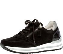 Sneaker, Rauleder, Reißverschluss,