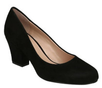 "Pumps ""Anthena"", Veloursleder, Blockabsatz"