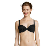 Bikini Oberteil, Bügel, unifarben, atmungsaktiv, UV-schützend