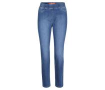 "Jeans ""Leggy"", strechig, Kurzlänge, Super Slim Fit,"