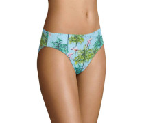 Bikini Hose, Tropical-Print