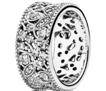 "Ring Leuchtender Blütenkranz ""190965CZ"", 925er , 56"