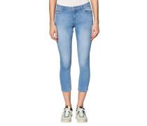 Jeans Skinny Fit Baumwolle 7/8-Länge