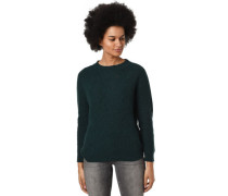 Pullover, Woll-Anteil, Strick-Muster, für Damen, dunkelgrün, XXL