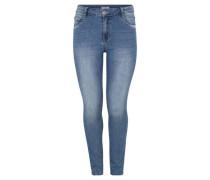 "Jeans ""Louise"" Slim Fit Pailletten-Details Große Größen"