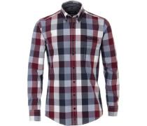Freizeithemd, 1/1 Arm, Button-Down, Comfort Fit