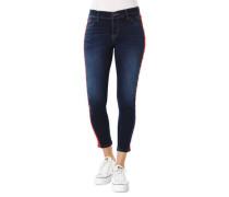 """Jeans """"Brilena"""", Skinny Fit, Galon-Streifen, Perlen"""