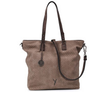 Nicy Shopper Tasche  cm taupe/brown