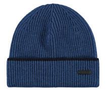 Mütze, Wolletrick, Beanie-Stil, Umschlag, Emblem