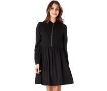 Kleid, Taillenbund, Rockfalten, für Damen, 990
