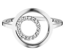 Ring 5/- Sterling rhodiniert Topas