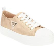 Sneaker, changierendes Obermaterialogo-Detail,
