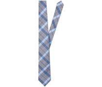 Krawatte 7 cm Türkis/Petrol