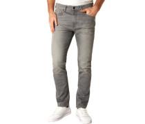 """Jeans """"VIDAR"""", unifarbenlim Fit, Crinkle-Effekt, für Herren, P51 , W33/L34"""
