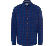 Freizeithemd, 1/1 Arm, Button Down, Comfort Fit, royalblau, XL