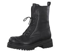 Boots, robuste Sohle, Zier-Steine