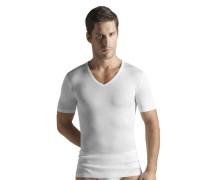 Shirt mit V-Ausschnitt Cotton Pure