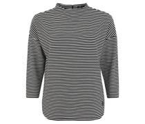 Shirt, 3/4-Arm, gestreift,