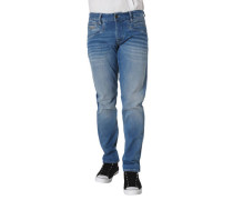 """Jeans """"Curtis"""" Relaxed Fit Straight Leg Waschung"""