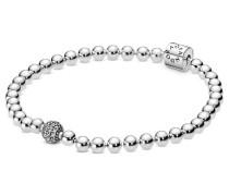 "Armband Beads & Pavé ""598342CZ"", 925er , 19 cm"
