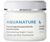 AQUANATURE Nachtcreme limited Edition