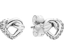 "Ohrstecker Knotted Hearts ""298019CZ"" 5er"