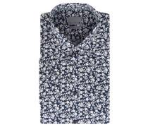 Businesshemd Modern Fit Baumwolle Kent-Kragen