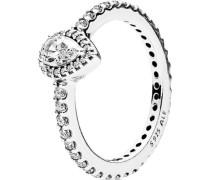 "Ring Strahlender Tropfen ""196254CZ"", 925er , 56"