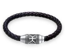 Armband Leder Basic Magnet-Verschluß 5  cm